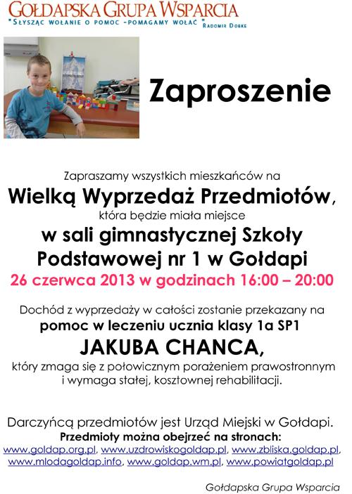 zaproszenie - plakat