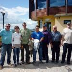 delegacja z Kalmucji na Pieknej Gorze w Goldapi