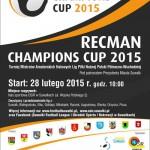 RECMAN CHAMPIONS CUP - Plakat A3