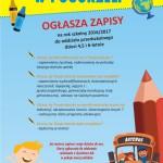 Szkoła Podstawowa w Pogorzeli ogłasza zapisy