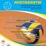 plakat final mistrzostw pilka siatkowa