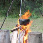 Potrawy z ogniska, czyli warsztaty kulinarne na świeżym powietrzu