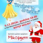 Wolontariusze zapraszają na spektakl i spotkanie z Mikołajem