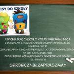 Szkoła Podstawowa nr 1 zaprasza