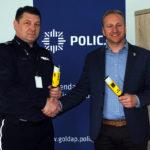 Nowy ogólnodostępny alkomat w gołdapskiej KPP