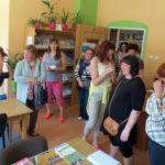 Wizyta Lokalnej Grupy Działania z Estonii w bibliotece