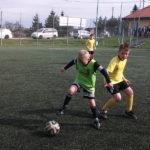 Przeprowadzili trening pokazowy piłki nożnej dla dzieci