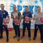 Trzech gołdapian z tytułem Mistrza Polski Służb Mundurowych w Kick-Boxingu