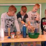 Prezentacja projektów edukacyjnych w ZS w Grabowie