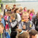 Wycieczka dzieci ze Szkoły Podstawowej w Grabowie