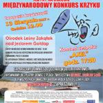 W niedzielę (13 sierpnia) XXII Konkurs Krzyku
