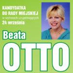Beata Otto – numer 2 na liście