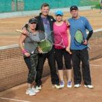 Gołdapianie Anna i Robert na turniejach tenisowych