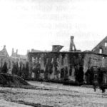 Z naszego archiwum: Centrum Gołdapi pod koniec wojny i tuż po wojnie