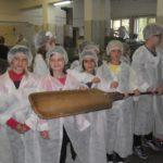 Poznawały pracę piekarzy