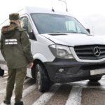 Na gołdapskim przejściu funkcjonariusze zatrzymali kradzione auto