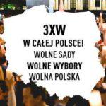 """""""Wolne sądy! Wolne wybory! Wolna Polska!"""" Protest grupy obywateli powiatu gołdapskiego"""