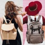 Plecak nie musi być turystyczny lub szkolny