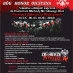 Powiatowe Obchody Narodowego Dnia Żołnierzy Wyklętych