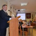 O środkach zewnętrznych na sesji Rady Powiatu