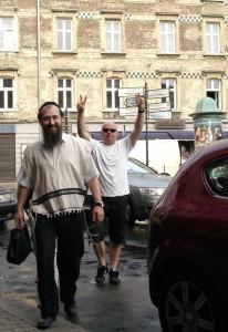 Paweł Bramson i Michał Tkaczyński reżyser filmu Księżyc to Żyd