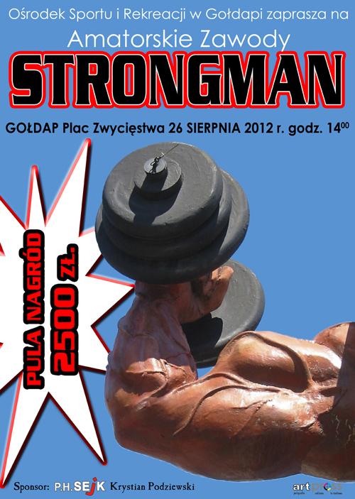 Plakat Strongman