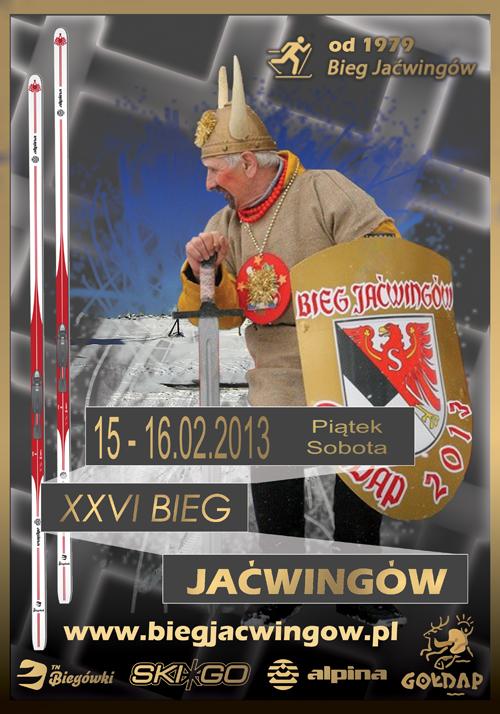 plakat Bieg Jaćwingów 2013