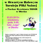Turniej piłki nożnej o Puchar Dyrektora MOSiR