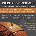 plakat koszykowka
