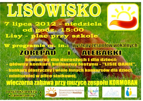 Lisowisko 2013-plakat