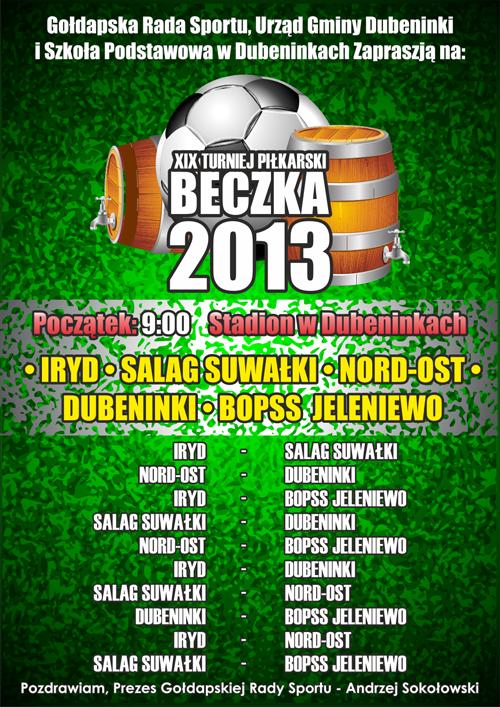 BECZKA 2013