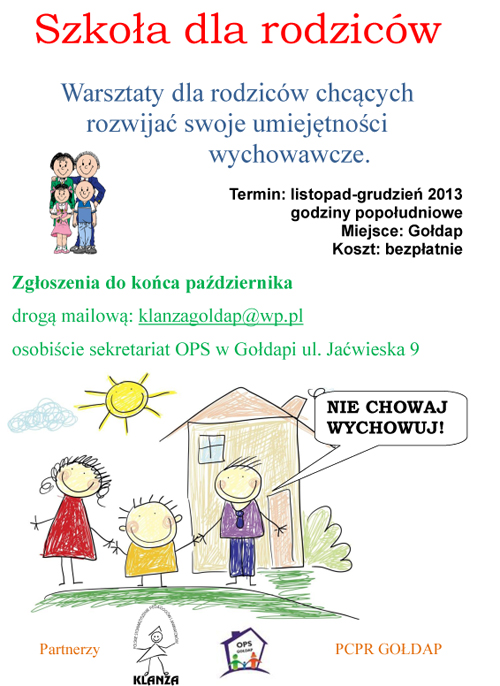 szkoła dla rodziców
