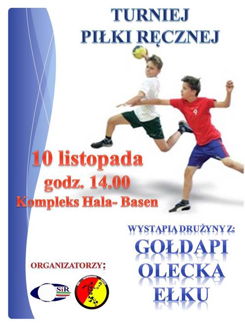 plakat turniej 10 listopada