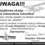 Dni otwarte lotniska Wilamowo