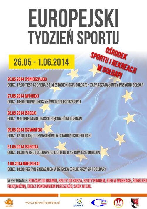 europejski tydzien sportu