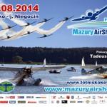 plakat Mazury AirShow 2014
