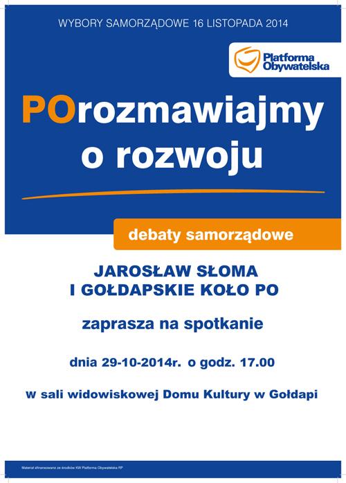 Plakat debaty