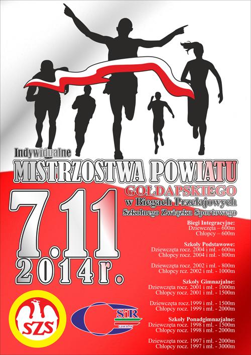 mistrzostwa powiatu w bieganiu