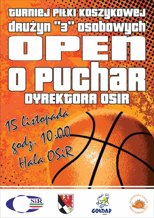 koszykówka plakat