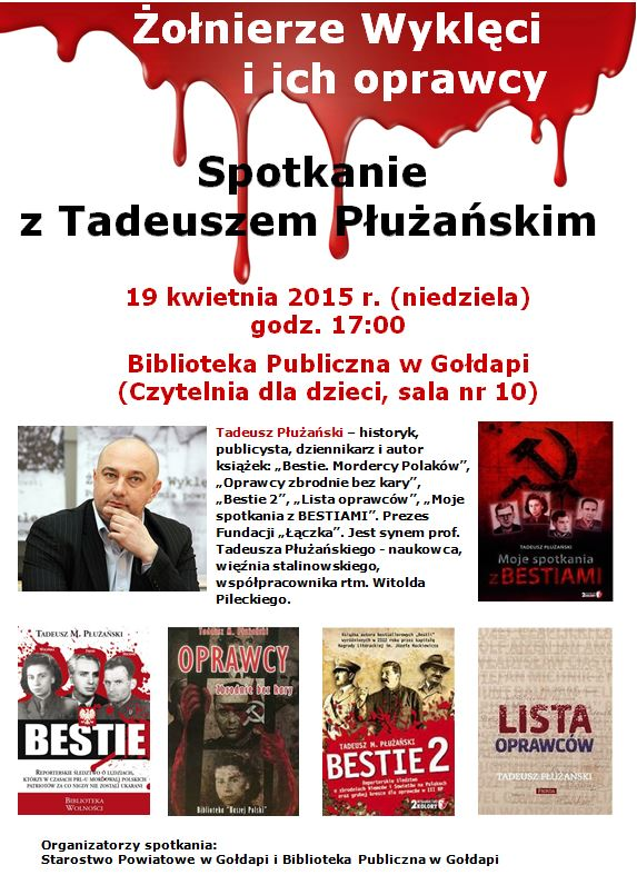 plakat Płużański T.