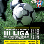 plakat rominta III liga ks wasilków