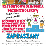 olimpiada przedszkolaków 2015
