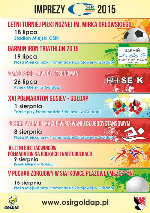 wakacje 2015 osir imprezy