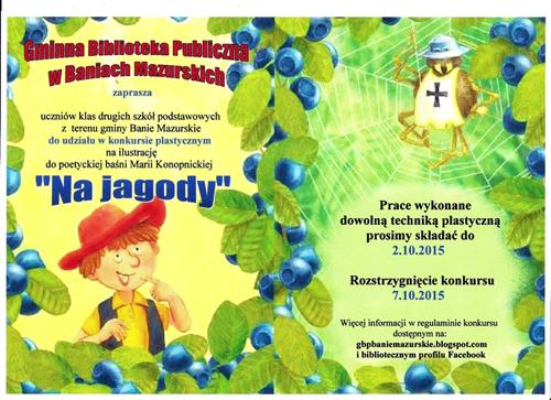 Plakat Na jagody