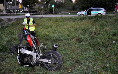 Wypadek Banie Mazurskie.