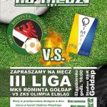 plakat rominta III liga olimpia elbląg