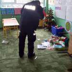 KPP Gołdap-zniszczenia w klasie