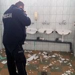KPP Gołdap-zniszczone sanitariaty (2)