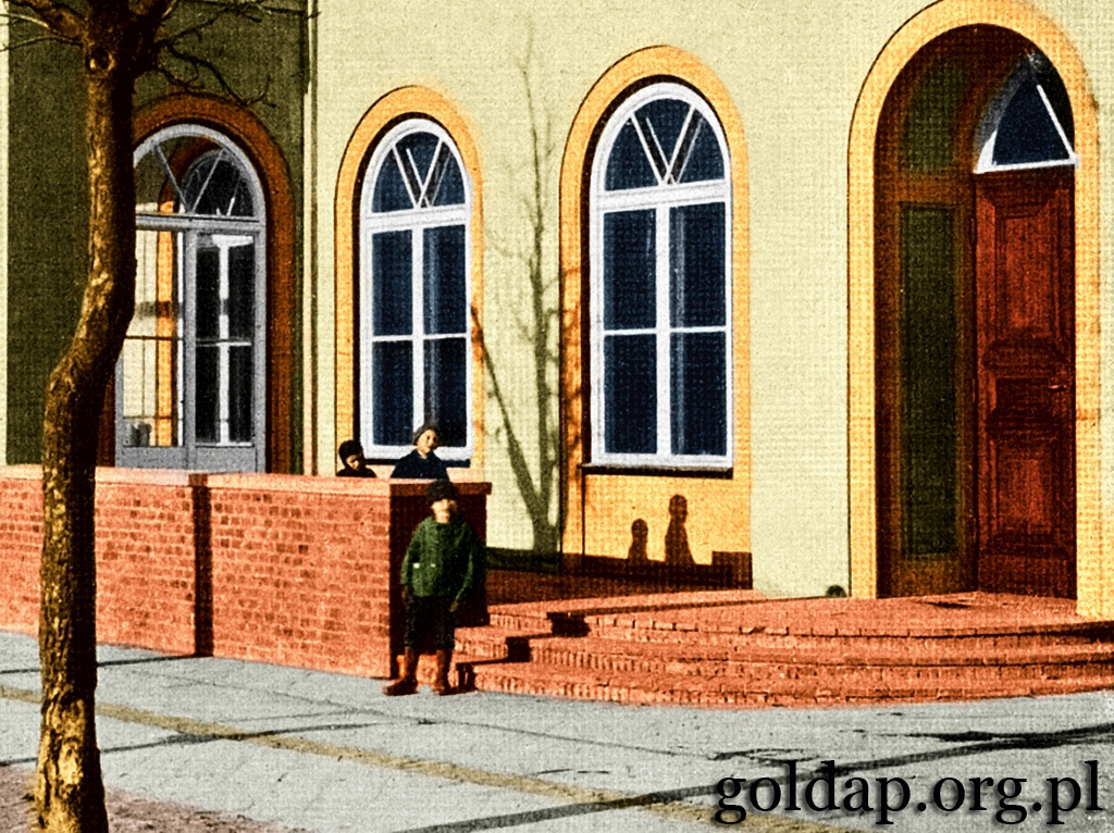 Gołdap Markt Nord Ostpreussischer Hof_1