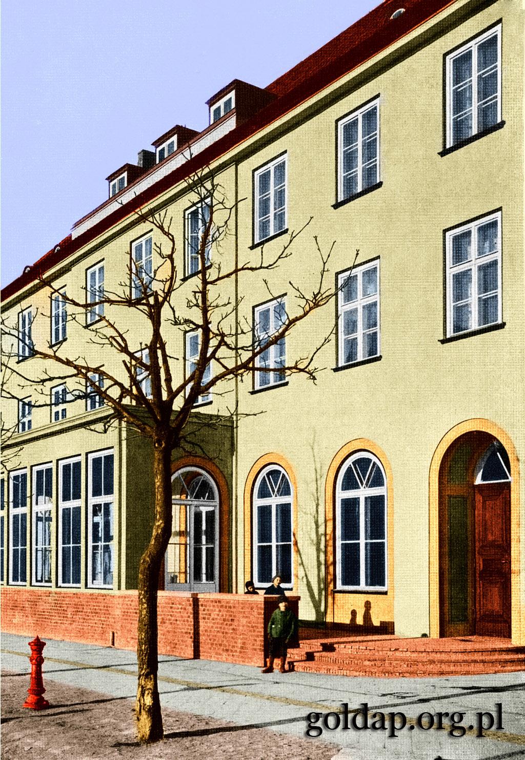 Gołdap Markt Nord Ostpreussischer Hof_2